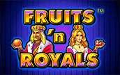 Игровой автомат Fruits and Royals Фрукты и короли