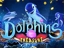 Играть на деньги в автомат Dolphins Treasure